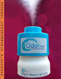 ODORNET DEODORIZER DISPENSER